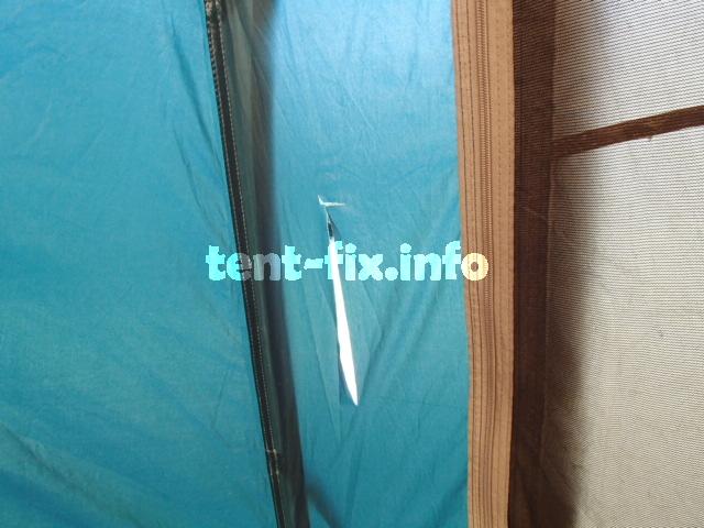 テントの破れ修復方法