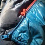 ファスナーの修理と補修と交換(ダウンジャケット)